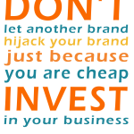 Graphic: Invest In Your Brand
