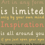 Graphic: Inspiration Is All Around You