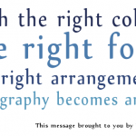 Graphic: Typography Is An Art