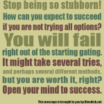 Graphic: Open Your Mind To Success!