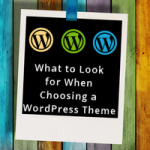 What to Look for When Choosing a WordPress Theme