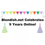 Blondish.net is 9 Years Old!