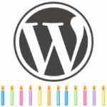 Happy 12th Birthday, WordPress!