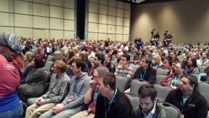 More of the audience at WordCamp US 2015 opening remarks