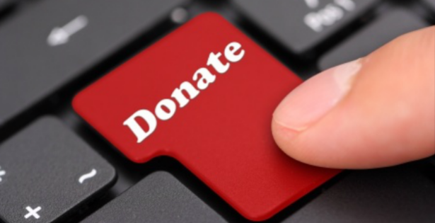 how to ask people to donate email
