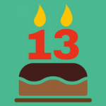 Happy 13th Birthday, WordPress!
