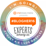 BlogHer16 is August 4-6, 2016!