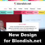 New Design for Blondish.net